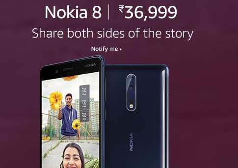 NOKIA 8 ; Amazon Great Indian Festive Season Sale: Last Chance to grab your loving products.