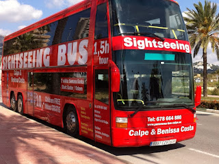 Sightseeing Bus en Calpe, Mario Schumacher Blog