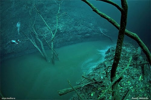 Cenote Angelita, Mystical Underwater River