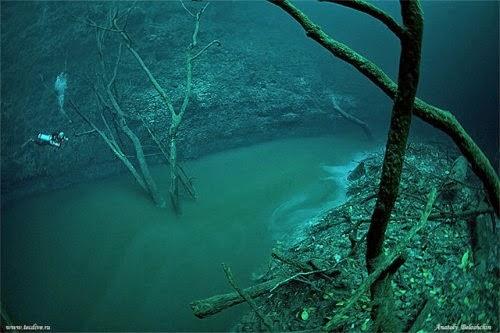 Cenote Angelita, Mystical Underwater River
