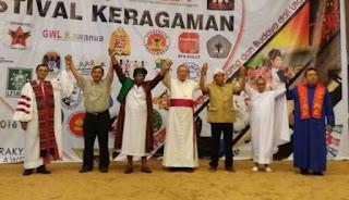Festival Keagamaan di DPRD Sulut, Sabtu (10/12/2016)
