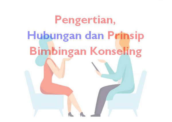 Pengertian, Hubungan dan Prinsip Bimbingan Konseling