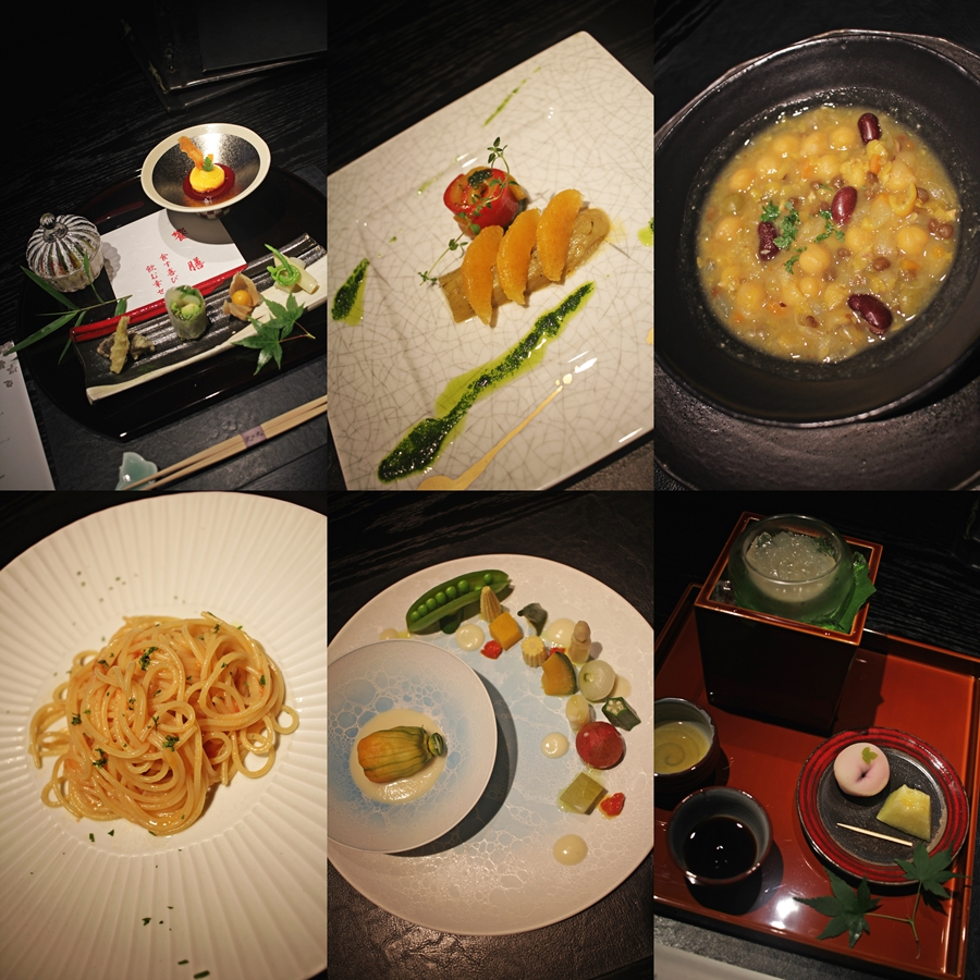 japan vegan dinner