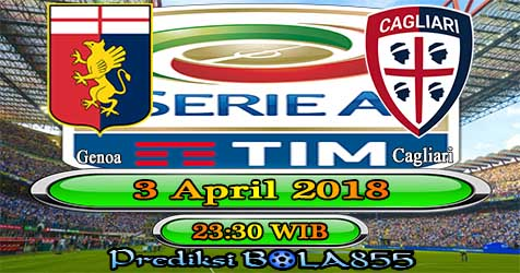 Prediksi Bola855 Genoa vs Cagliari 3 April 2018
