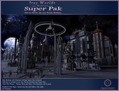 Iray SkyDome Super PAK