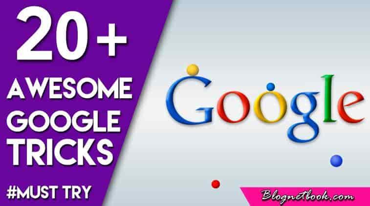 20+ Most useful Google tricks