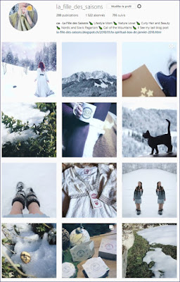 Feed Hiver Saisons Instagram