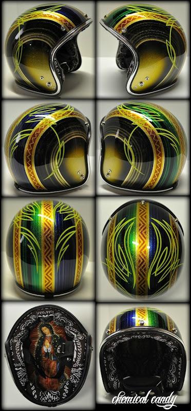 Chemical Candy Customs Refurbished Helmets