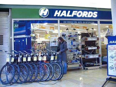 圖片說明: 荷蘭自行車連鎖店 HALFORDS 已經結束營業,圖片來源: Retail Detail EU
