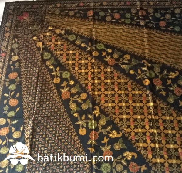 Kain Batik Cap Tolet motif Sinaran