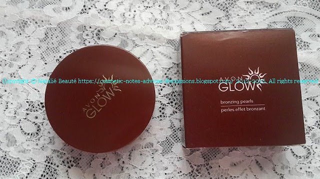 BRONZING PEARLS AVON GLOW WARM CORAL NATALIE BEAUTE REVIEW