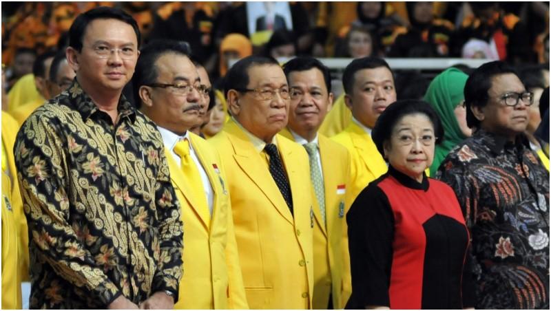 Ahok Bisa Semobil dengan Jokowi dan Megawati Saat ke Rapimnas Golkar