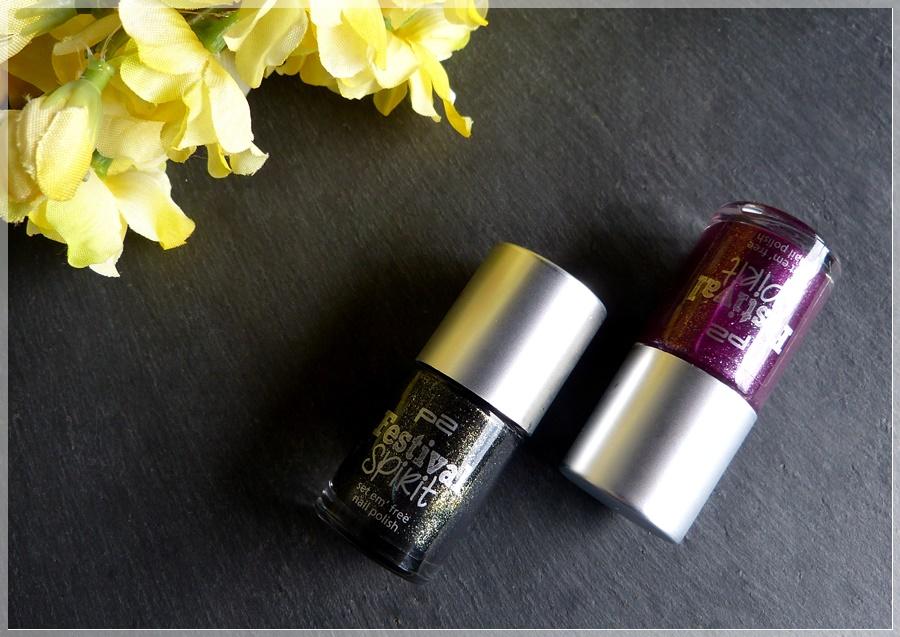 p2 fancy und favorite Nagellacke nail polish