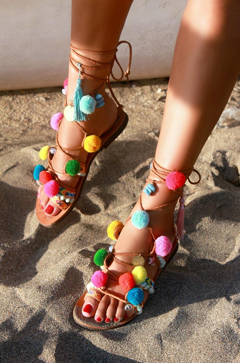 Mabu By Maria BK, Pompom sandals