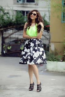 Bidya Sinha Saha Mim Bengladeshi Model Stills Hot In Green Dress
