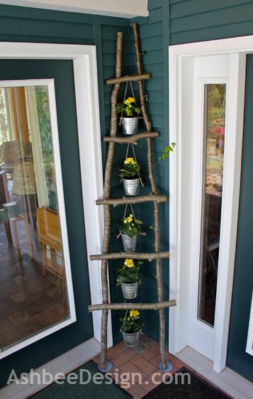 merdiven, çiçek standı, bahçe fikirleri, dekor