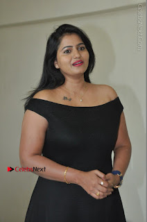 Telugu Actress Swathi Reddy Latest Stills in Black Gown  0023.JPG