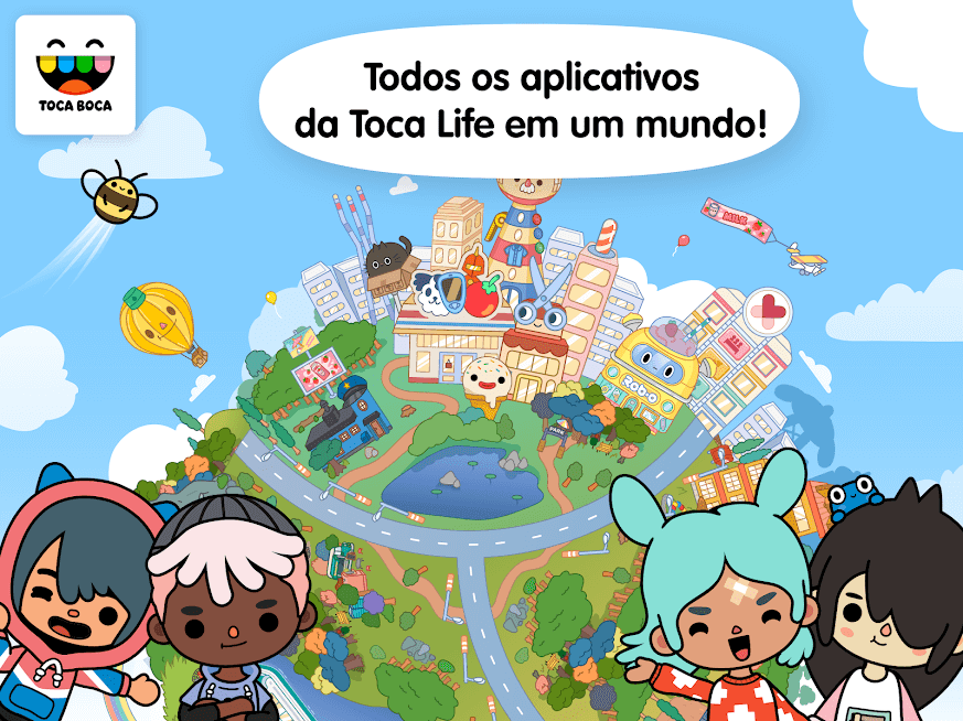 Toca Life: World apk mod DESBLOQUEADO 1.27