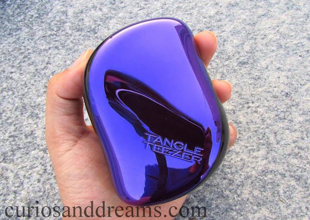 Tangle Teezer Compact Styler review, Tangle Teezer review india, Tangle Teezer review