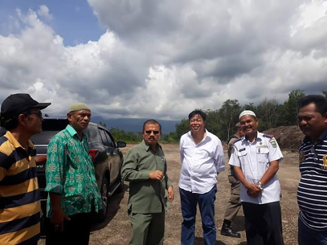 DPR RI Dukung Perjuangkan Anggaran Pembangunan Tarok City