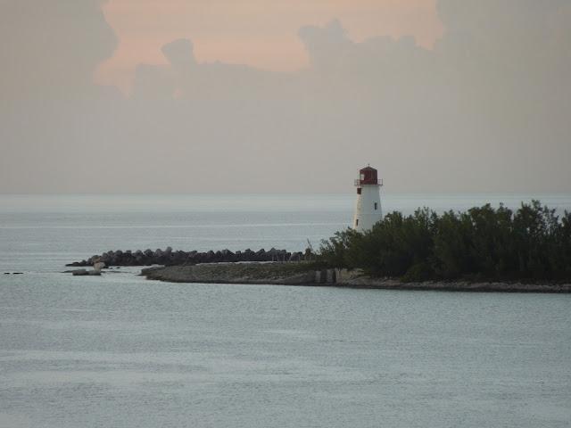 Nassau Harbor lighthouse