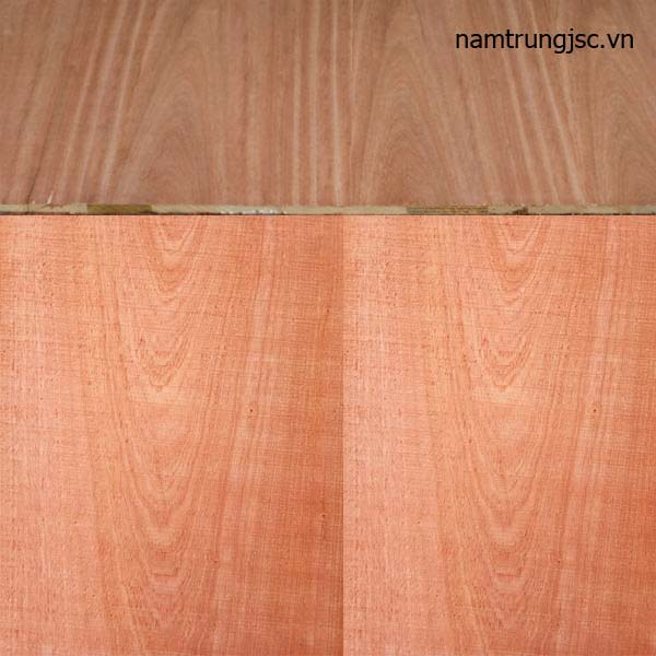 ván nền gỗ ghép phủ veneer xoan đào