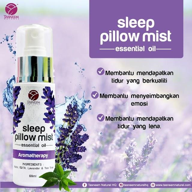 Bantu Anak Supaya Lebih Mudah Tidur Dengan Sleep Pillow Mist