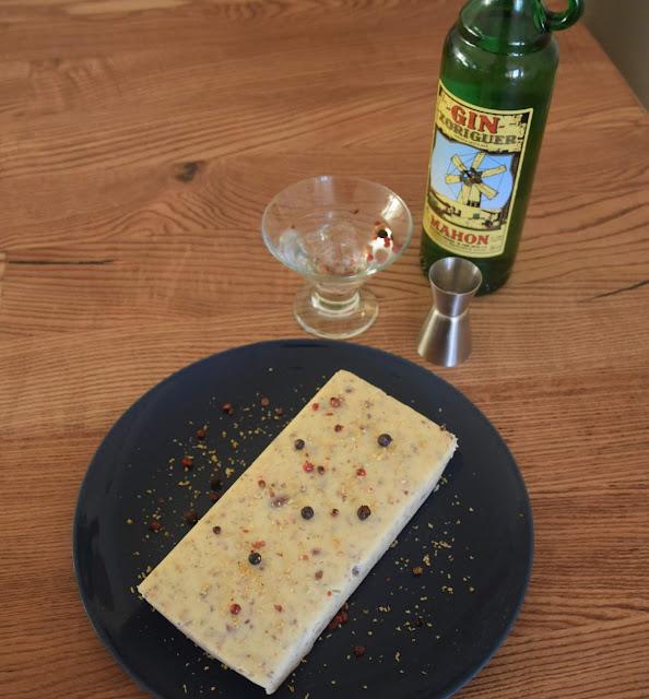 Turrón De Chocolate Blanco, Limón Y Gin Xoriguer
