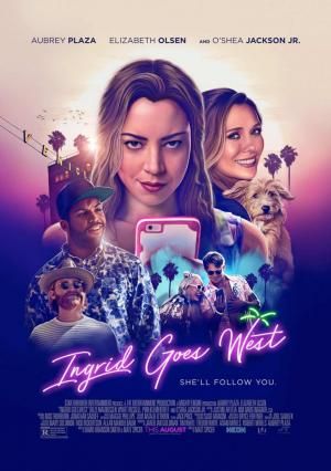 Ingrid Goes West (HD 720p, HD 1080p y Español- Inglés, 2017) poster box code