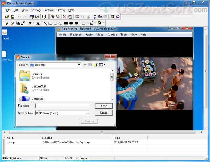 Quick Screen Capture Free Download Full Version For Windows ~ USZoneSoft