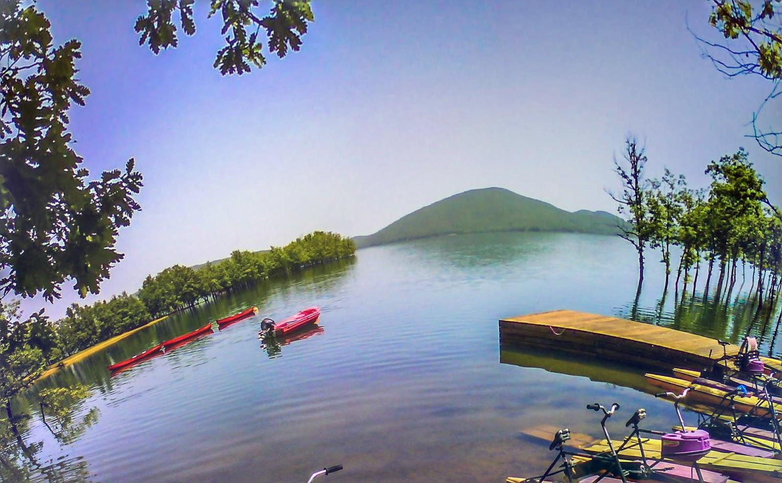 Βασίλης Αργύρης: Η λίμνη Πλαστήρα από τα Καλύβια Πεζούλας Νο 3