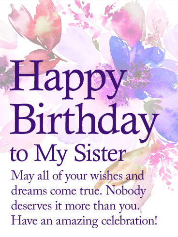 Captivating Happy Birthday Wishes For Sister With Quotes 4