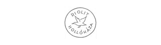 1927 - 1939 - RIOLIT HOLLÓHÁZA jelzéssel porcelánjegy