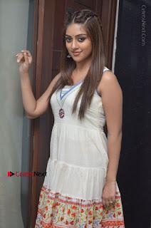 Telugu Actress Anu Emmanuel New Stills in Beautiful White Long Dress  0007.JPG
