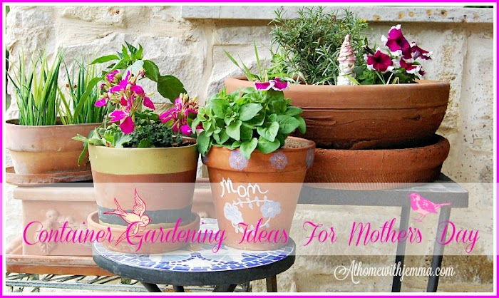 Thrifty Container Gardening Ideas For Mother's Day