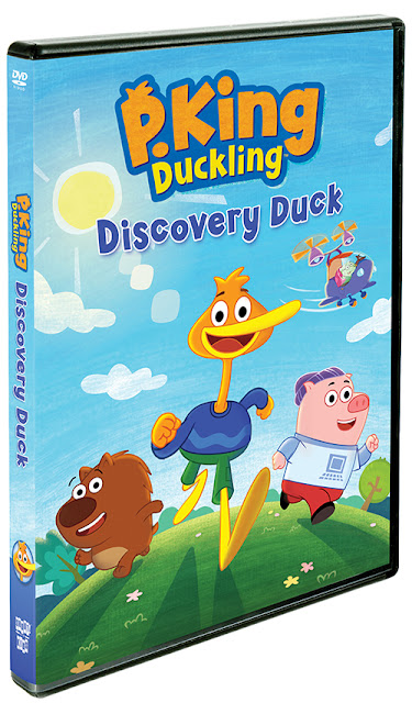 Shout! Factory P. King Duckling: Discovery Duck ~ #Review #Giveaway