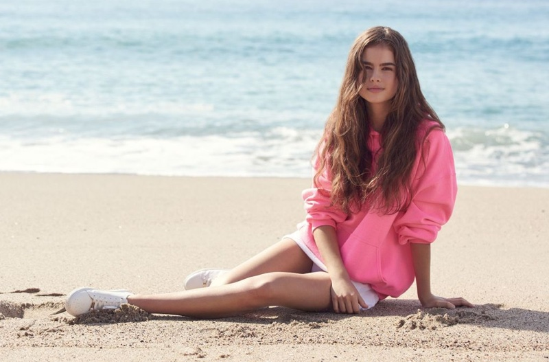 Lily Jean Harvey stars in Topshop's spring-summer 2017 campaign