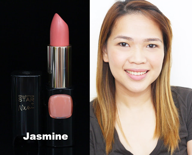 a photo of L'Oreal Color Riche Collection Star Velvet Pinks in Jasmine