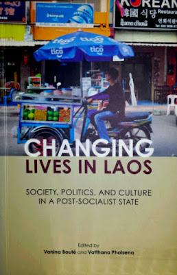 Cover of Changing Lives in Laos book