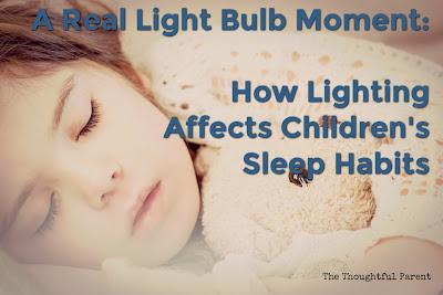 How Lighting Affects Children's Sleep Habits