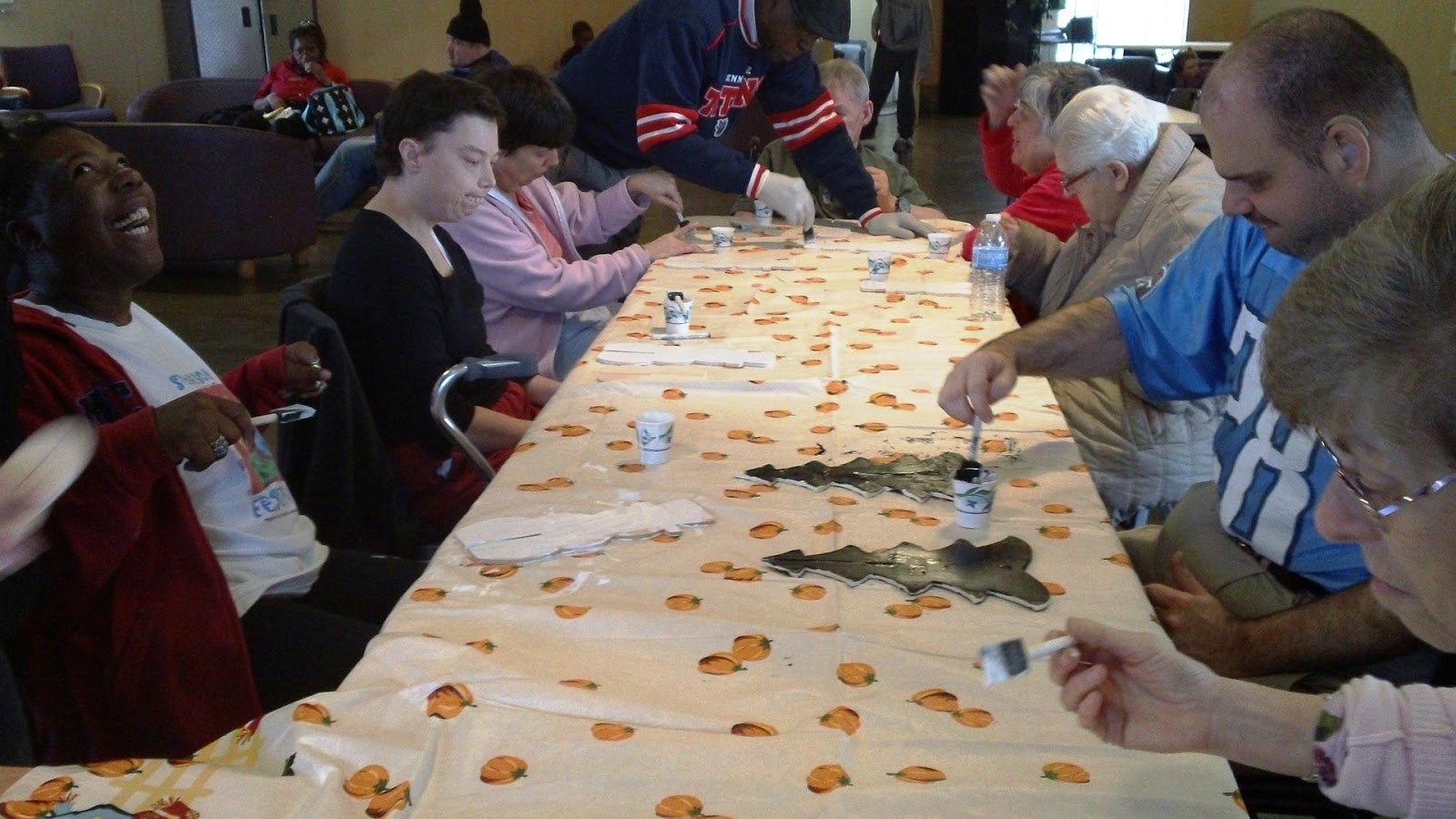 christmas crafts for adults with disabilities