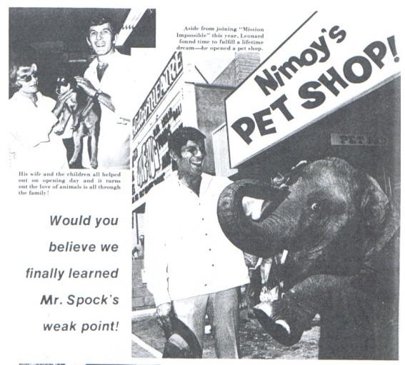 Nimoy petshop