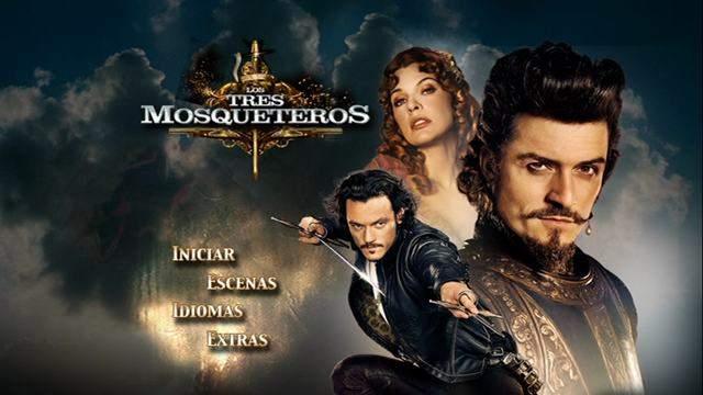Los Tres Mosqueteros DVDR NTSC Español Latino ISO 2011