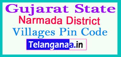 Narmada District Pin Codes in Gujarat State