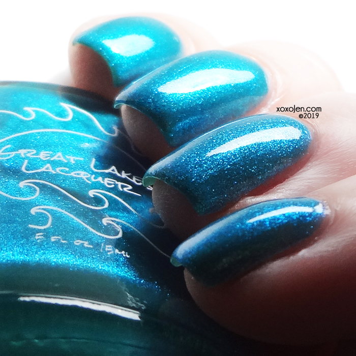 xoxoJen's swatch of Great Lakes Lacquer Nessy