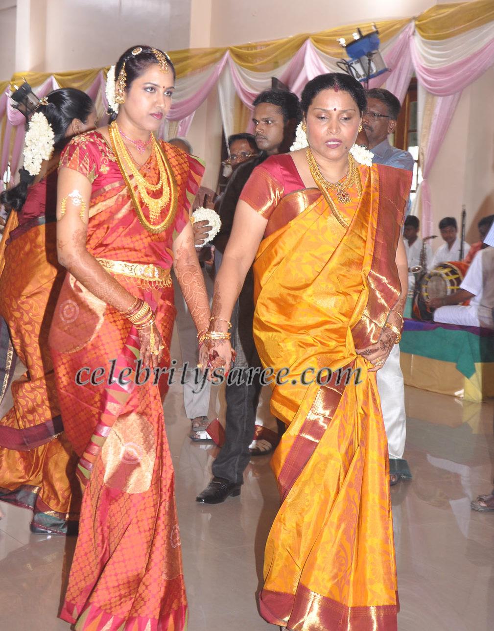 Ks Raviar Daughter Wedding Silk Sarees