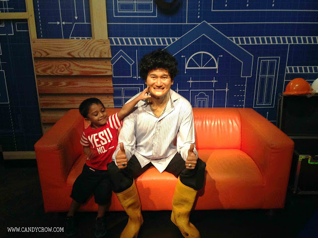 7 Things to do in Singapore in 4 Days, wax museum singapore
