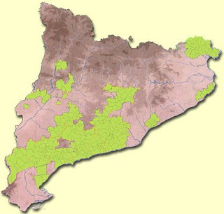 zona de producción Do catalunya