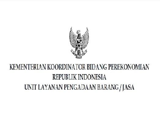 Lowongan Kerja Terbaru Kementerian Koordinator Bidang Perekonomian