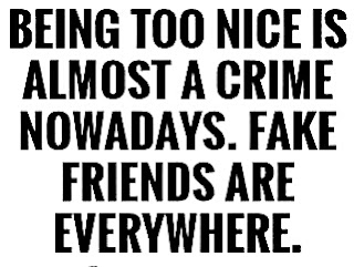 fake friends are real